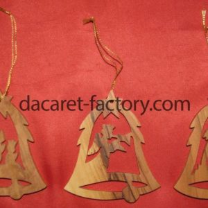 Artistic Bell Christmas Ornaments-0