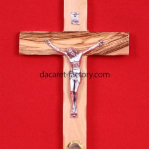 Catholic Cross with Mother of Pearl-0