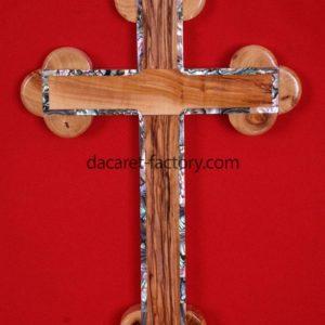 Orthodox Olive Wood Cross-0
