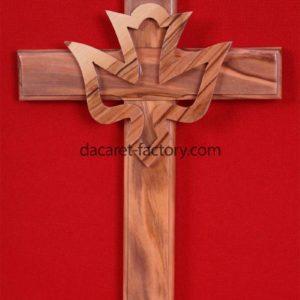 Dove Olive Wood Cross-0