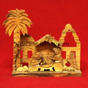 Carving Artistic Olive Wood Nativity Set Is hand made in Bethlehem City ,Holy Land-0