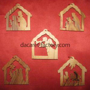 Nativity Christmas Ornaments-0
